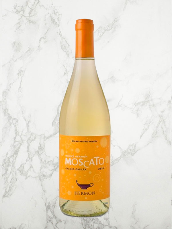 Golan Heights Winery Mount Hermon Moscato 2016
